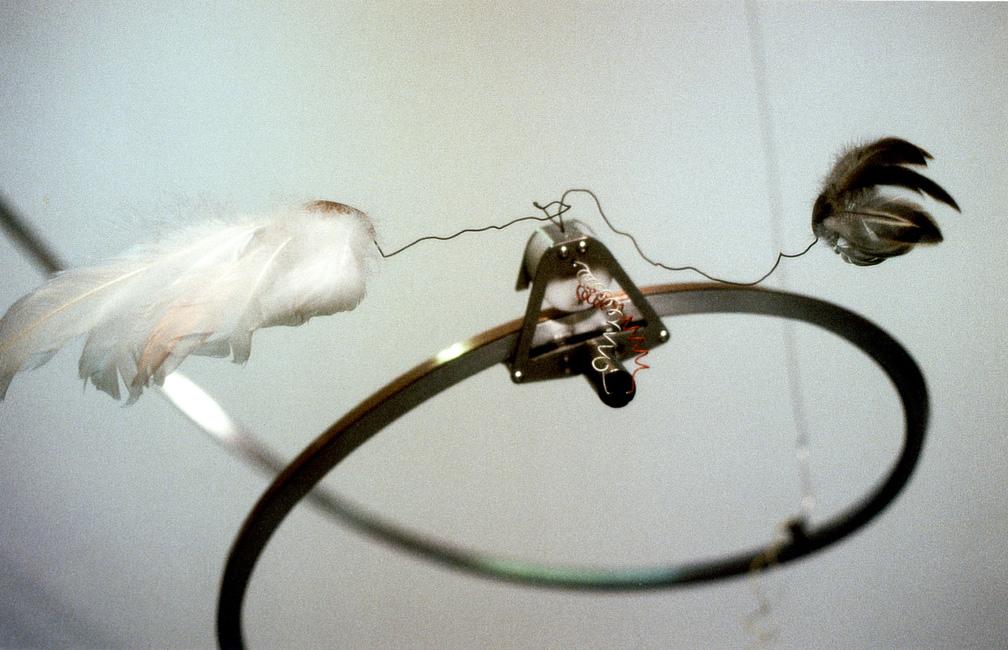 6a,vogelfedernmaschinenwolkenlandschaft-detail,-Kunstverein-Bad-Salzdetfurth-2001